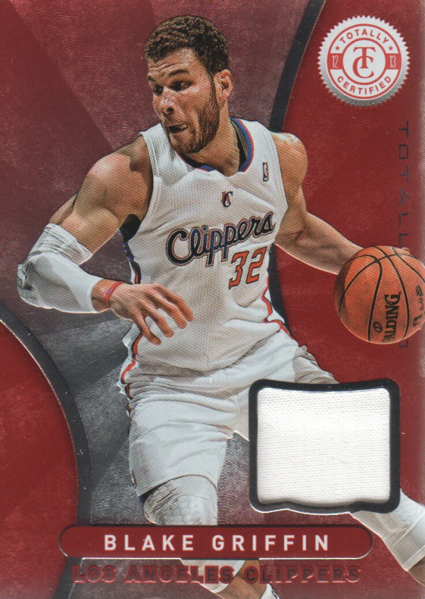 2012-13 Totally Certified Red Materials #58 Blake Griffin