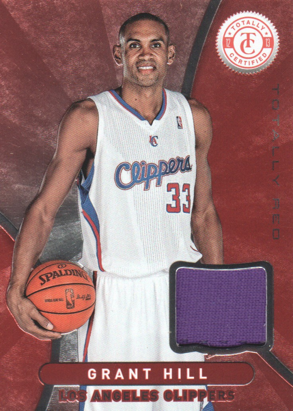 2012-13 Totally Certified Red Materials #65 Grant Hill