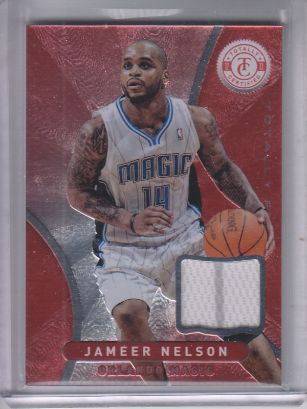 2012-13 Totally Certified Red Materials #68 Jameer Nelson