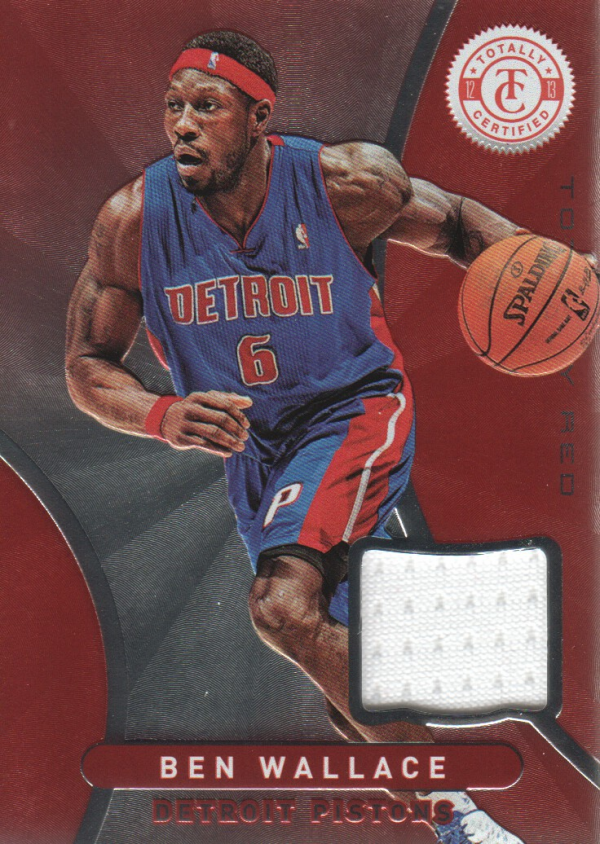 2012-13 Totally Certified Red Materials #118 Ben Wallace