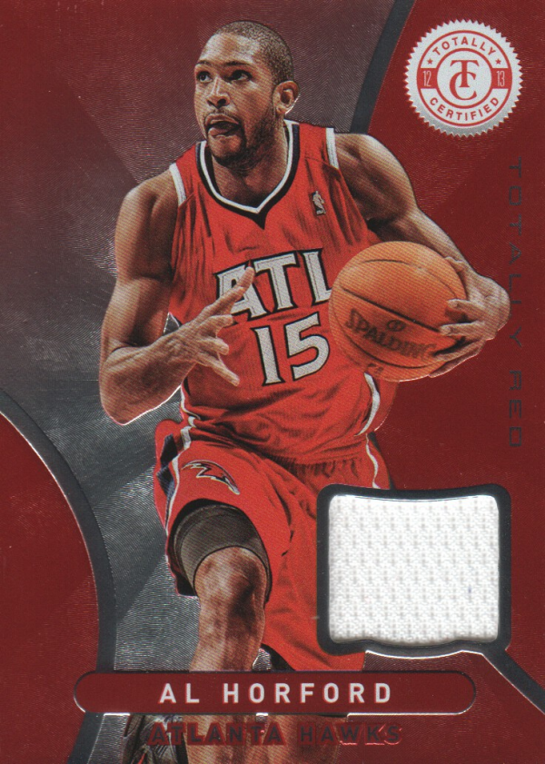 2012-13 Totally Certified Red Materials #119 Al Horford