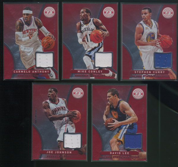 2012-13 Totally Certified Red Materials #128 Mike Conley