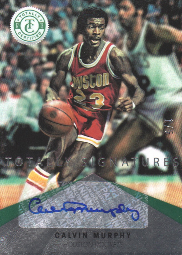 2012-13 Totally Certified Green Autographs #84 Calvin Murphy