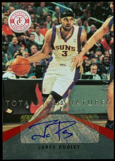 2012-13 Totally Certified Red Autographs #27 Jared Dudley