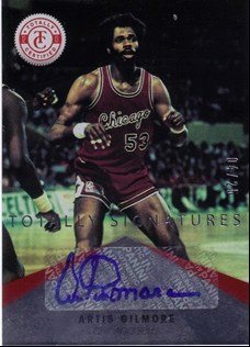 2012-13 Totally Certified Red Autographs #77 Artis Gilmore