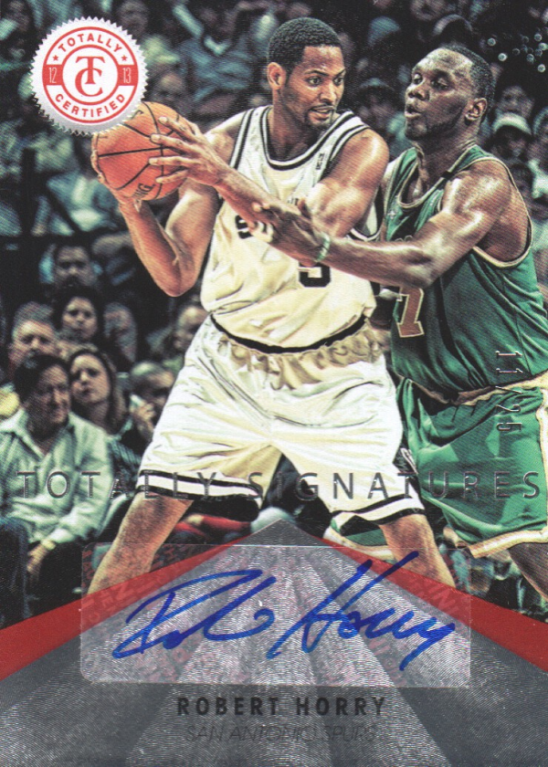 2012-13 Totally Certified Red Autographs #100 Robert Horry