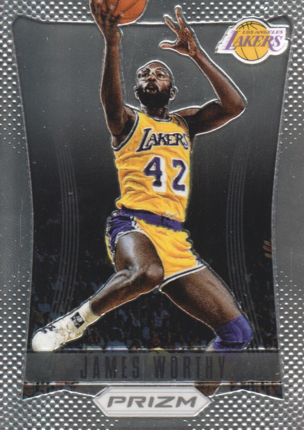 2012-13 Panini Prizm #193 James Worthy