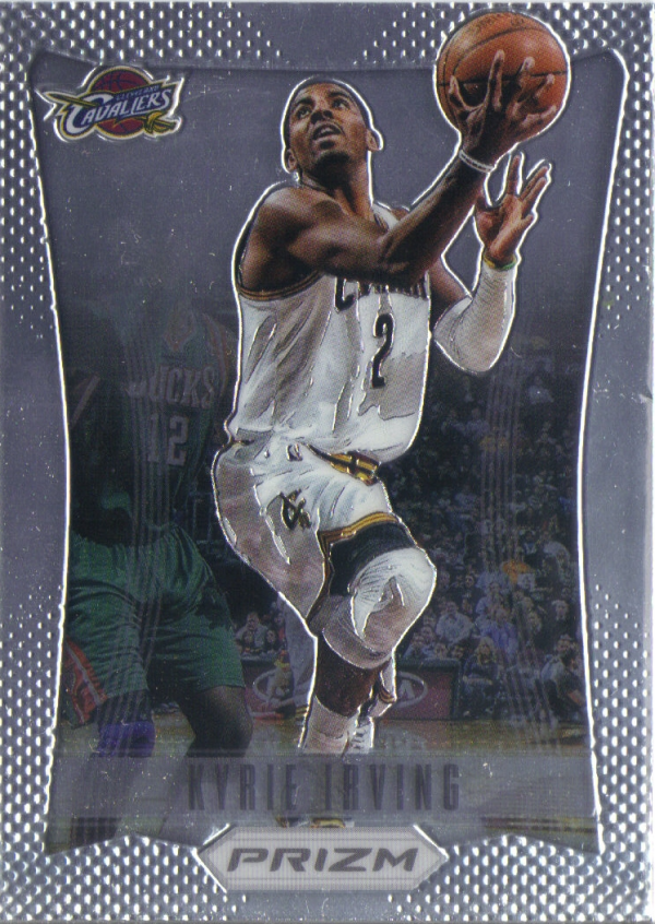 2012-13 Panini Prizm #201 Kyrie Irving RC