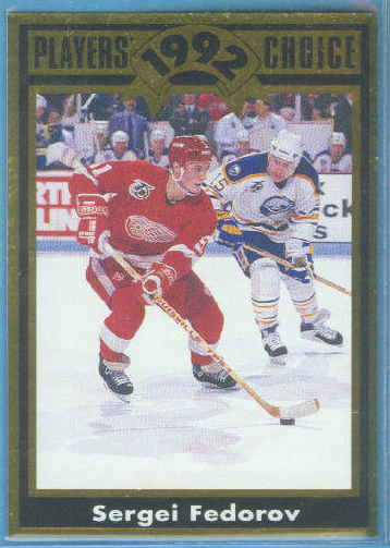 1992 Cartwright's Gold Card #11 Sergei Fedorov
