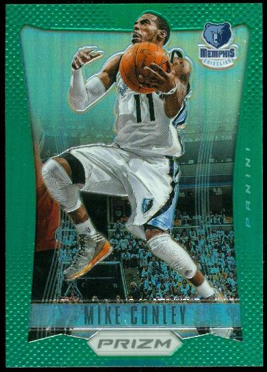 2012-13 Panini Prizm Prizms Green #31 Mike Conley