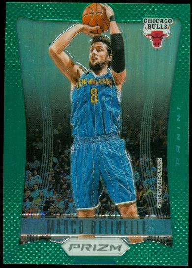 2012-13 Panini Prizm Prizms Green #38 Marco Belinelli