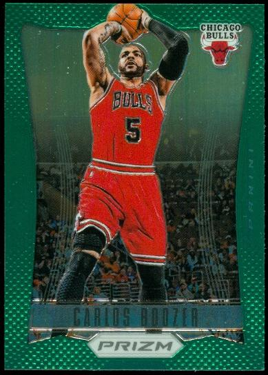 2012-13 Panini Prizm Prizms Green #53 Carlos Boozer