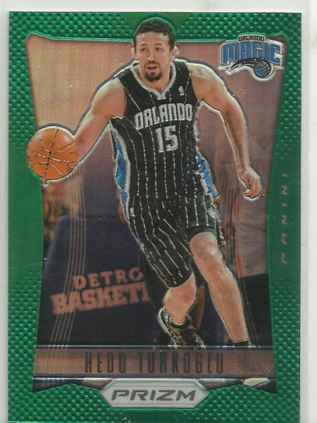2012-13 Panini Prizm Prizms Green #108 Hedo Turkoglu
