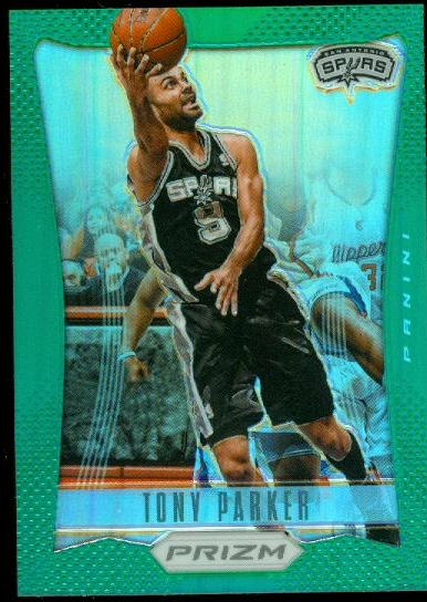 2012-13 Panini Prizm Prizms Green #120 Tony Parker