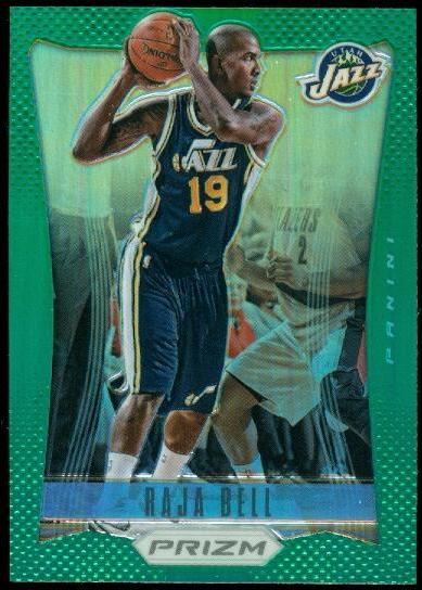 2012-13 Panini Prizm Prizms Green #126 Raja Bell