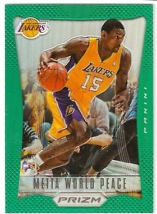2012-13 Panini Prizm Prizms Green #147 Metta World Peace