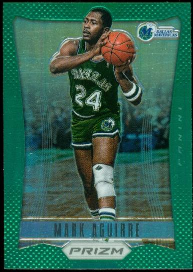 2012-13 Panini Prizm Prizms Green #170 Mark Aguirre