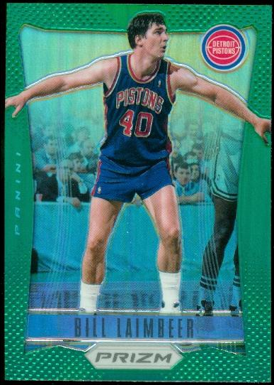 2012-13 Panini Prizm Prizms Green #183 Bill Laimbeer