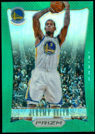 2012-13 Panini Prizm Prizms Green #233 Jeremy Tyler