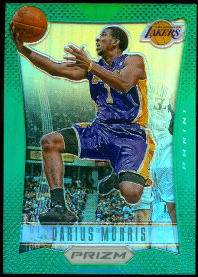 2012-13 Panini Prizm Prizms Green #243 Darius Morris
