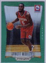 2012-13 Panini Prizm Prizms Green #266 Arnett Moultrie