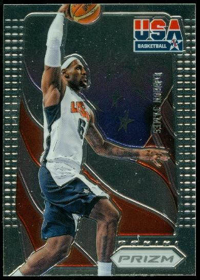 2012-13 Panini Prizm USA Basketball #3 LeBron James