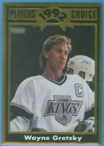 1992 Cartwright's Player's Choice Gold Card #10 Wayne Gretzky