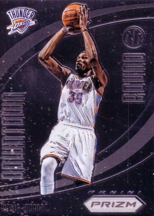 2012-13 Panini Prizm Downtown Bound #5 Kevin Durant