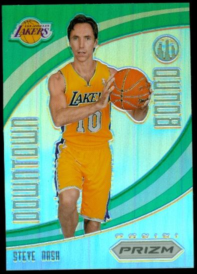 2012-13 Panini Prizm Downtown Bound Prizms Green #4 Steve Nash