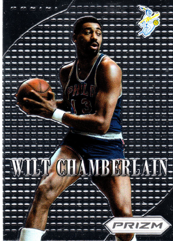 2012-13 Panini Prizm Most Valuable Players #23 Wilt Chamberlain