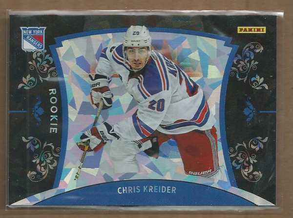 2012 Panini Black Friday Cracked Ice #47 Chris Kreider