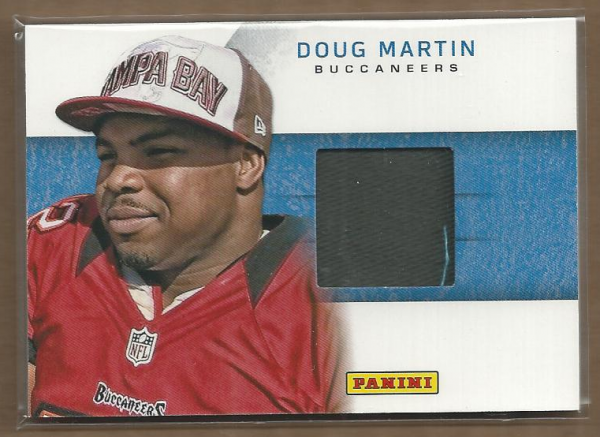 2012 Panini Black Friday Rookie Materials Hats #6 Doug Martin