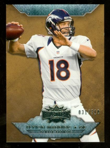 2012 Topps Triple Threads Sepia #100 Peyton Manning