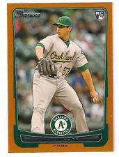 2012 Bowman Draft Blue #44 Tom Milone