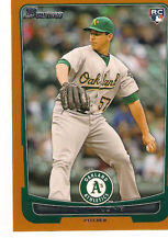 2012 Bowman Draft Orange #44 Tom Milone