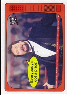 2012 Topps Heritage WWE The Superstars Speak #18 Ted DiBiase