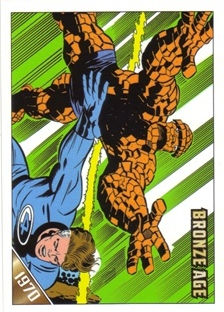 2012 Marvel Bronze Age Parallel #3 Fantastic Four #100