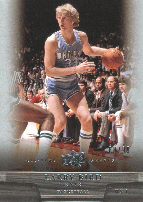 2012 Upper Deck All-Time Greats #38 Larry Bird