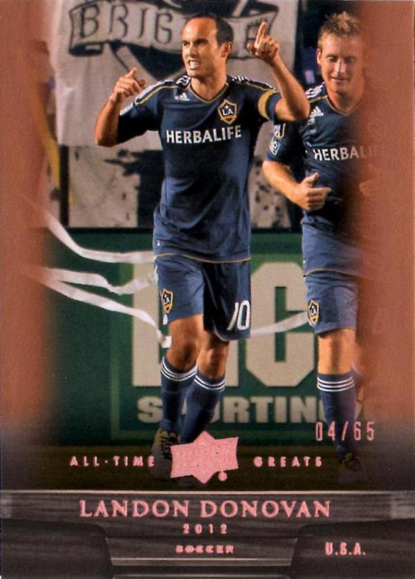 2012 Upper Deck All-Time Greats Bronze #31 Landon Donovan