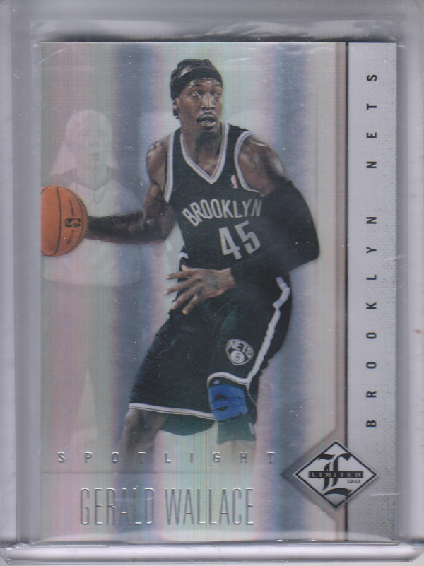 2012-13 Limited Silver Spotlight #9 Gerald Wallace