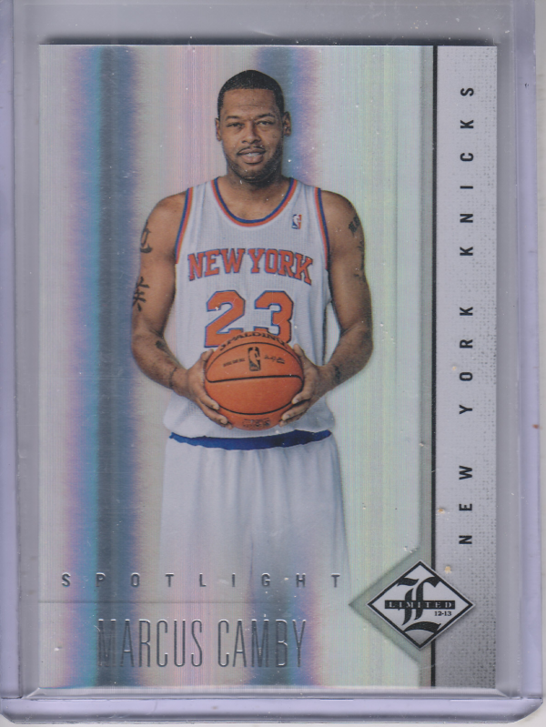 2012-13 Limited Silver Spotlight #16 Marcus Camby