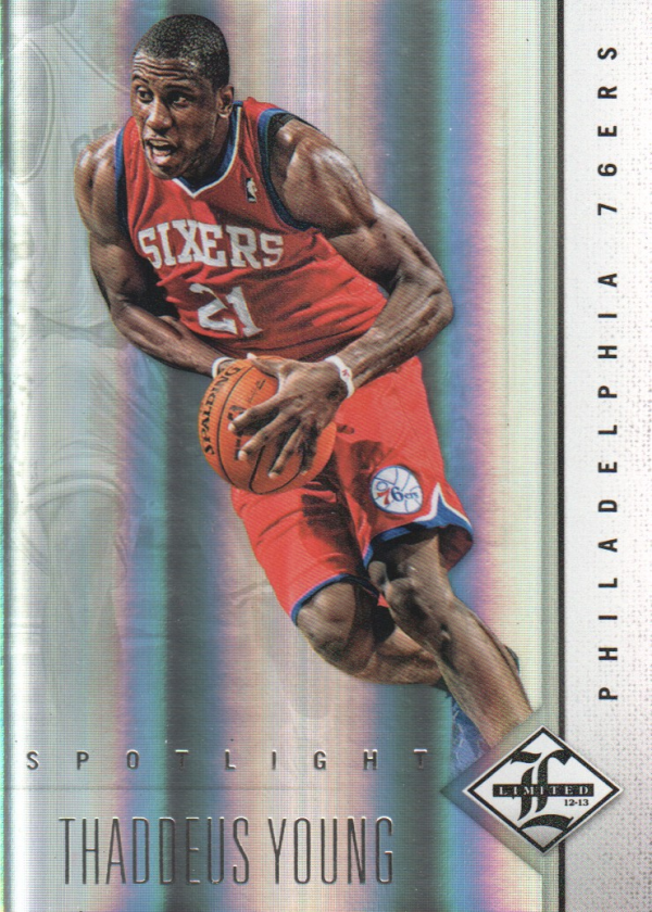 2012-13 Limited Silver Spotlight #22 Thaddeus Young