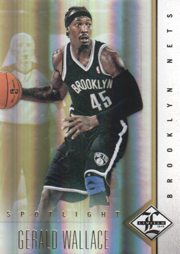 2012-13 Limited Gold Spotlight #9 Gerald Wallace