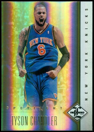 2012-13 Limited Gold Spotlight #18 Tyson Chandler