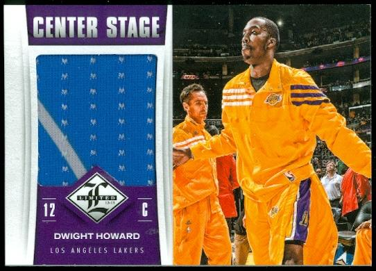 2012-13 Limited Center Stage Materials #2 Dwight Howard/199