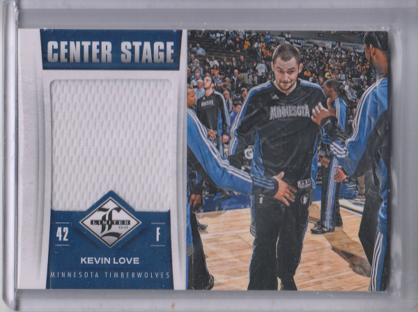 2012-13 Limited Center Stage Materials #18 Kevin Love/199