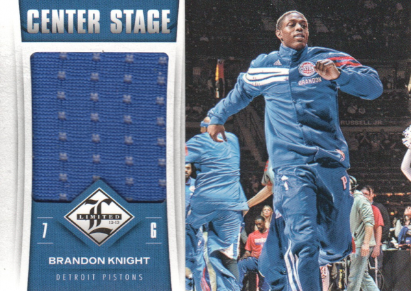 2012-13 Limited Center Stage Materials #26 Brandon Knight/199