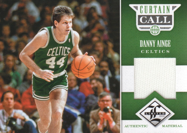 2012-13 Limited Curtain Call Materials #6 Danny Ainge/199