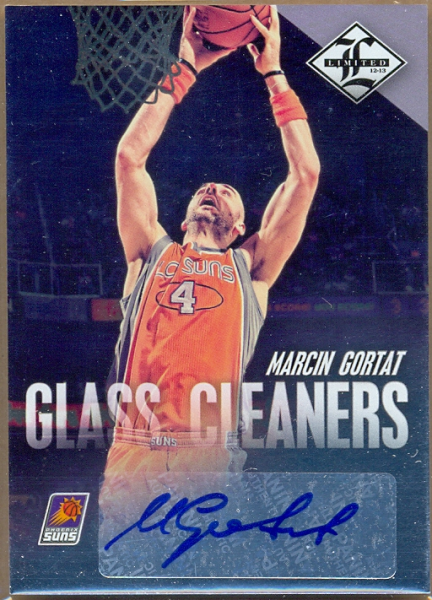 2012-13 Limited Glass Cleaners Signatures #8 Marcin Gortat/199