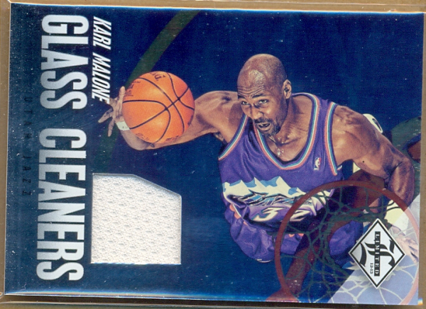 2012-13 Limited Glass Cleaners Materials #18 Karl Malone/99
